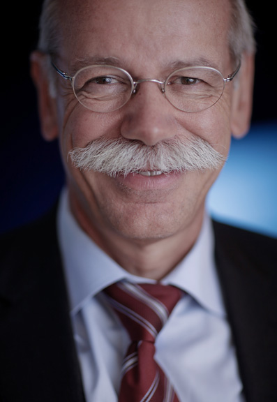 Dieter Zetsche, chief executive officer of Daimler AG for Bloomberg News