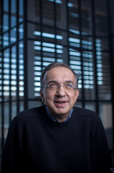 Sergio Marchionne, CEO of Chrysler Group LLC for Bloomberg News
