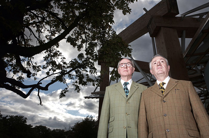 Gilbert and George, Artists.
