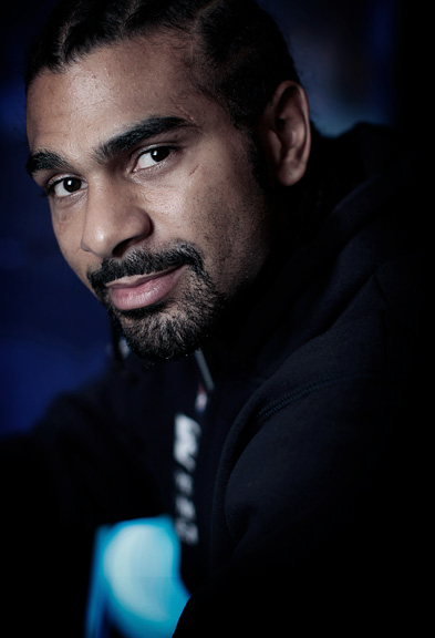 David Haye, former World Heavyweight Boxing Champion