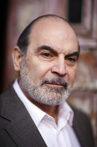David Suchet, Actor.