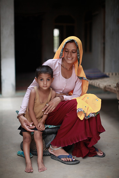 Mother and Child, Rajasthan, India