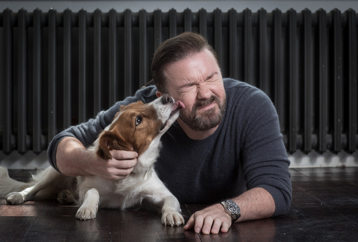 Ricky Gervais, Comedian