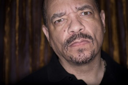 Rapper, Ice T. July 2012