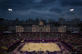 Volleyball - Horseguards Parade