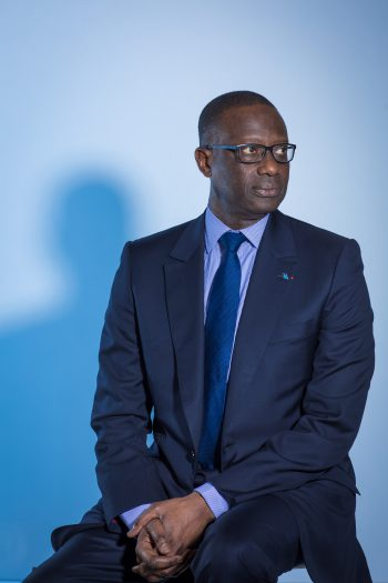 Credit Suisse Group AG Chief Executive Officer Tidjane Thiam, Corporate Photography