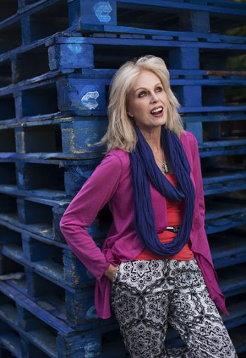 Joanna Lumley - Commercial Photographer