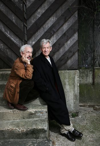 Sion Callow and Sir Ian McKellen - Commercial Photographer