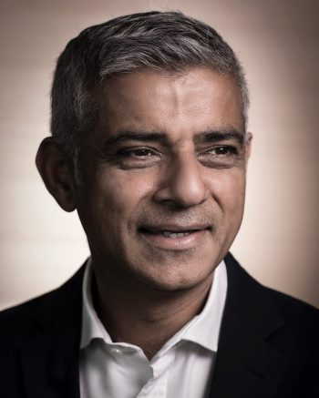 Sadiq Khan - Portrait Photographer